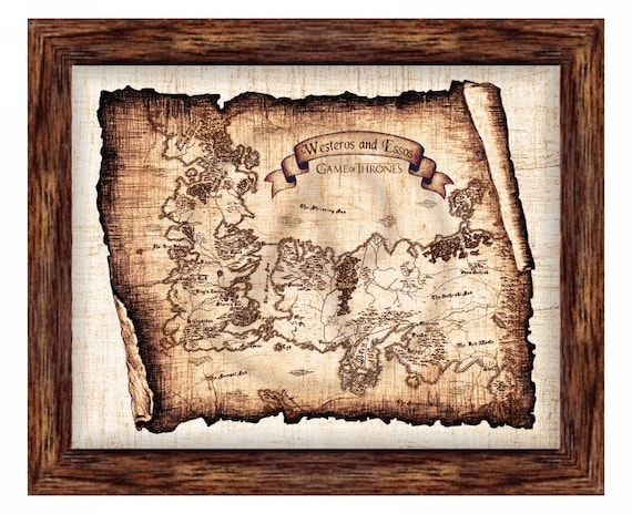 This is a graphic of Game of Thrones Printable Map inside esteros