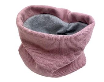 Loop Scarf *Knit Pink* Baby Kids