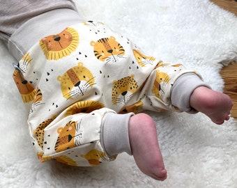 Baby Pants *Tiger Lion Mustard Yellow* Baby Pants Jersey Boy