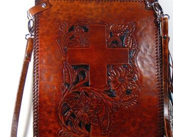 Vendor's Bag/Pouch-Crossbody-Leather