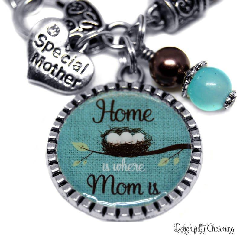 Christmas Bracelet Mom 50th Birthday Gift Daughter To