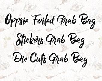 SALE Grab Bags - Limited Quantities
