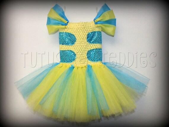 Flounder Costume Tutu Child Toddler Baby Newborn Etsy