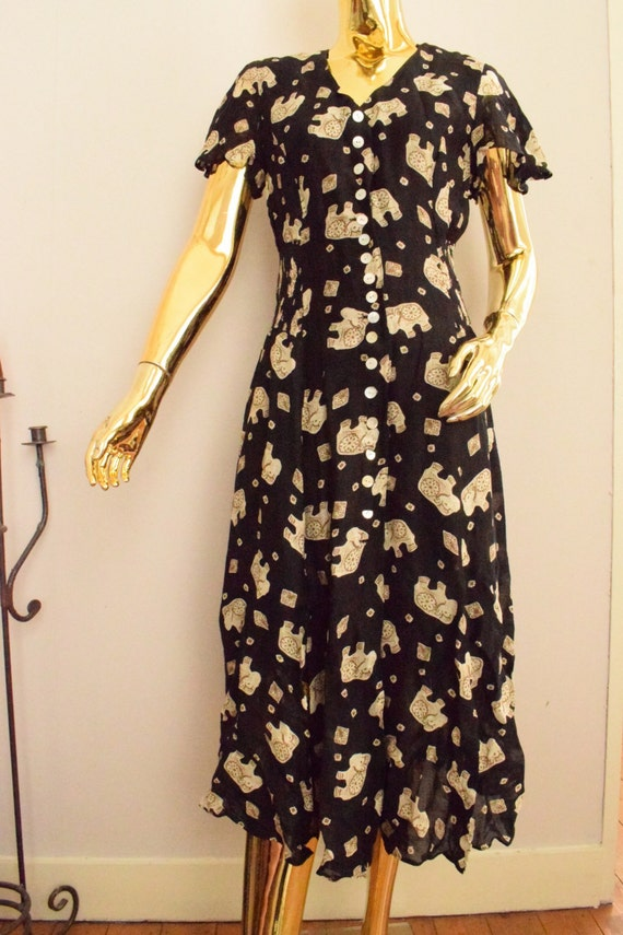 Des De Vintage Betty Années Robe 70 Barclay Etsy zHwnq