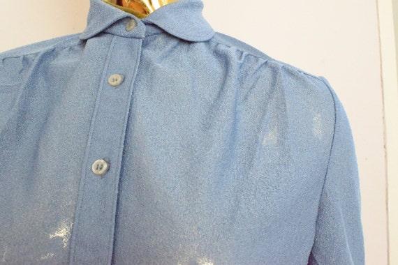Pastel shirt, pastel blue shirt, baby blue shirt