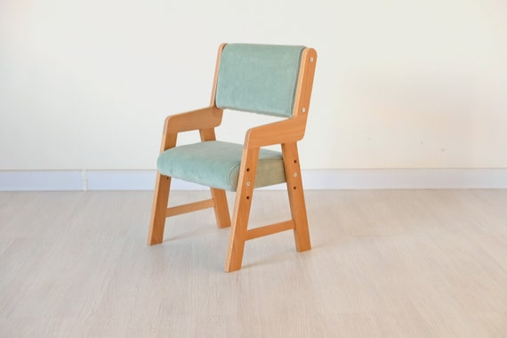 Stupendous Soft Baby Chair Mini Chair With Adjustable Height For Kids Room Green Childrens Furniture Weaning Chair For Kids Workspace Theyellowbook Wood Chair Design Ideas Theyellowbookinfo