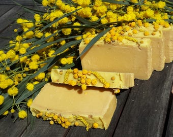 Mimosa Natural Soap Made with Organic Oils