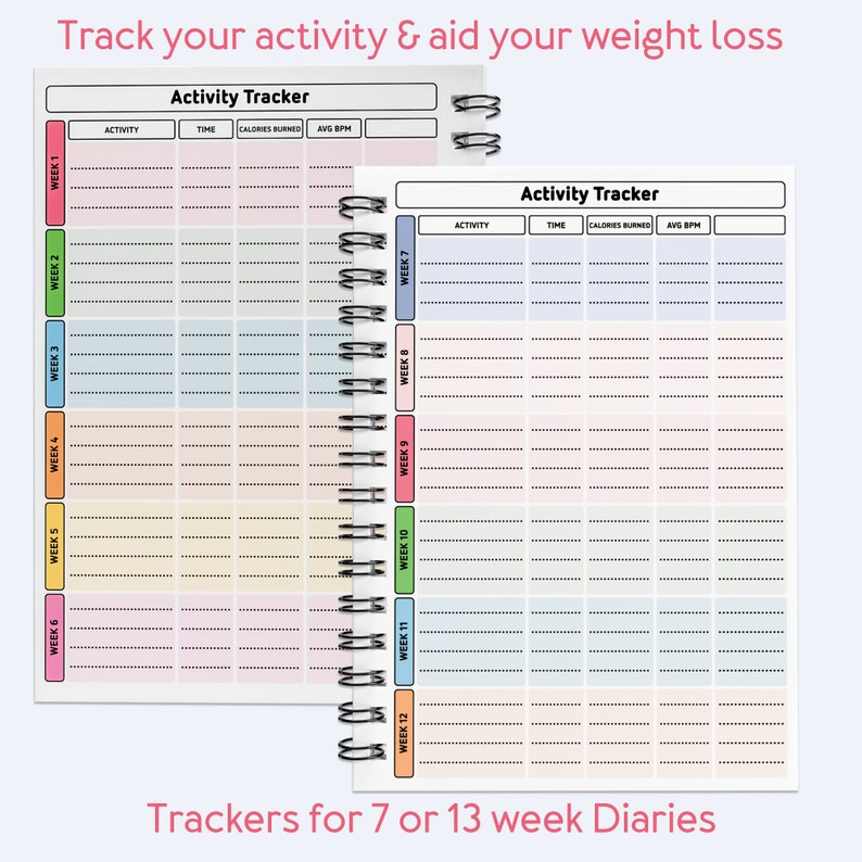 2021 WEIGHT WATCHERS food planner weight loss points easy ...