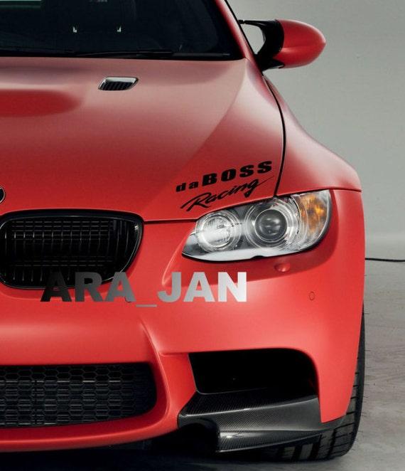 QUATTRO AUDI Vinyl Decal sticker Sport Racing emblem RED