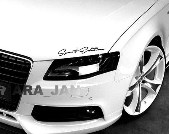 INFINITI SPORT Edition Performance Sport Car Decal sticker emblem logo RED Fits