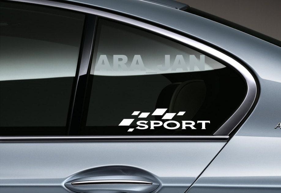sport vinyl aufkleber racing aufkleber logo autofenster. Black Bedroom Furniture Sets. Home Design Ideas