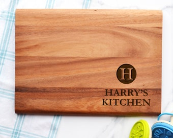 Personalised Initial Chopping Board