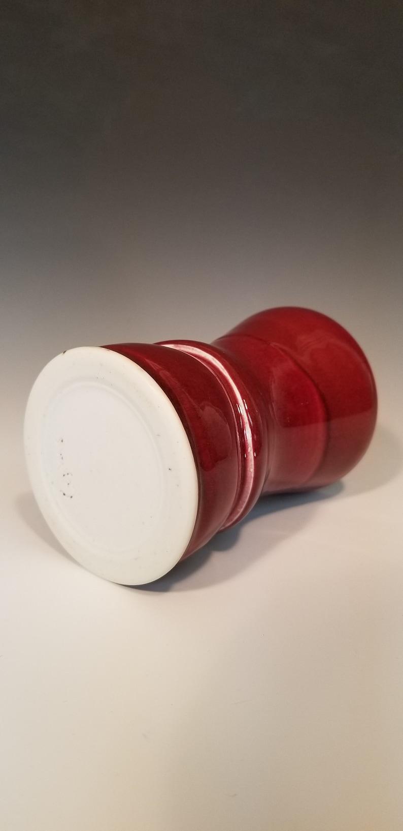 Copper Red Porcelain Tumbler