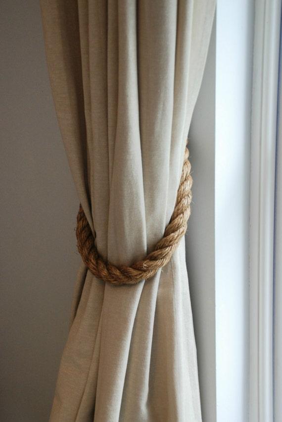 Extra dikke 2.8 cm Manilla touw gordijn Tiebacks gordijn