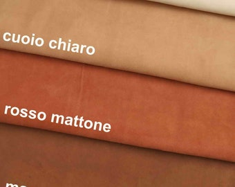10 pieces of our fancy stock collections Italian leather 4,72 x 5,91 inch  C78   La Garzarara