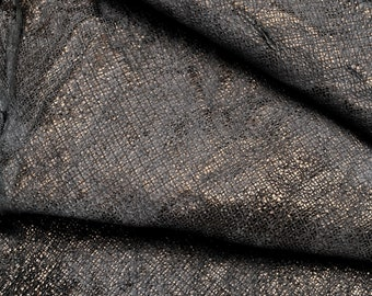 sporty style Italian leather washed wrinkled effect brown laminated hides quite soft skin   A4325-MT  La Garzarara