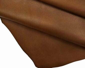 soft lamb skin italian leather smooth leather semi glossy sheepskin nappa leather Aubergine Purple Nappa Leather
