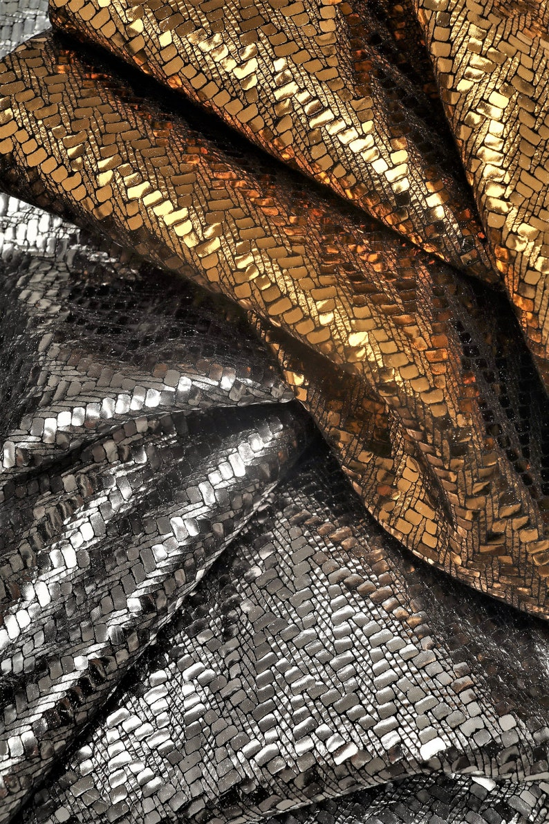 fcfbb08c949d Italian leather laminated suede hides with a fabric effect