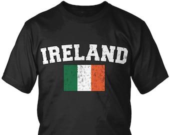 Ireland Baseball Script Irish Pride Nationality Eire  Juniors T-shirt