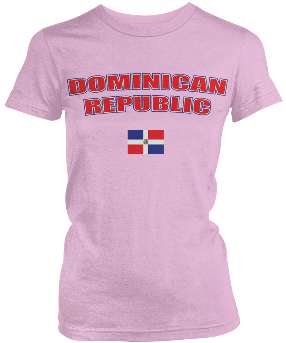 Dominican Republic Bold Ladies Juniors T-shirt Dominican Flag Republica Dominicana Dr Ladies Juniors Dominican Soccer Shirts Amd_dom_08 Unisex Tshirt