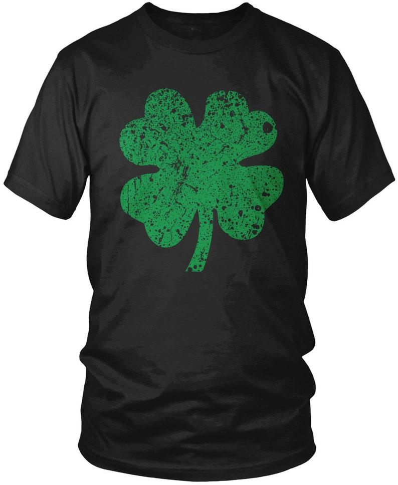 326d4f00608 Four Leaf Clover Men s T-shirt 4 Leaf Clover Shirt Lucky
