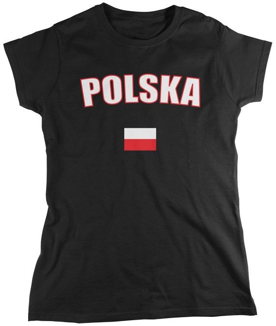 Polska Ladies T-Shirt Polish Pride Polska Polish Eagle  3dccfd549e