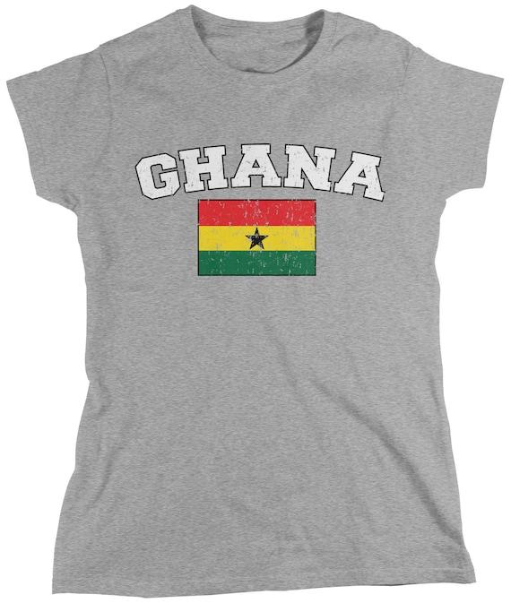 Ghana Bold Country Flag Ghanaian Pride Republic of Ghana Hoodie Pullover
