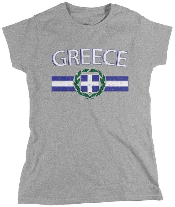 Grecia GREECE HELLAS Baby Bambini T-SHIRT MAGLIA INCLUSA nome e numero