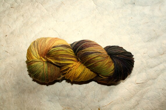 Atelier Lemon Cloud Play  High Twist Merino Yarn Hand Dyed 100 gr