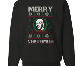 Mike Tyson Christmas Sweater Etsy