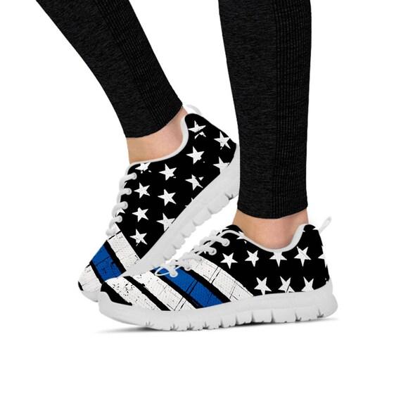 dames de bleu pour course ligne Sneakers Fine chaussures baskets les xqwO6Hfp