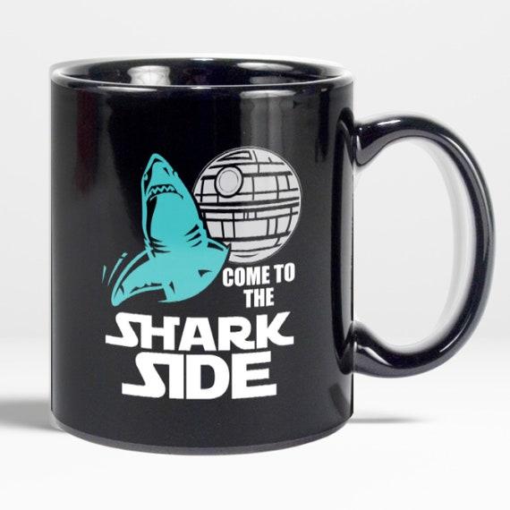 Shark Lover Gift Shark Week Coffee MugGreat White Shark Cup