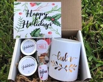 Christmas gift basket | Etsy