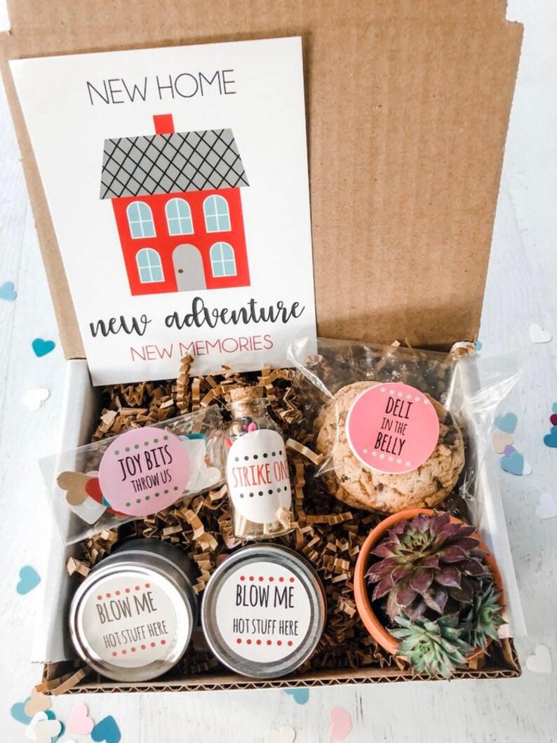 885402035f20 Housewarming gift basket new home gift basket box Gift Happy