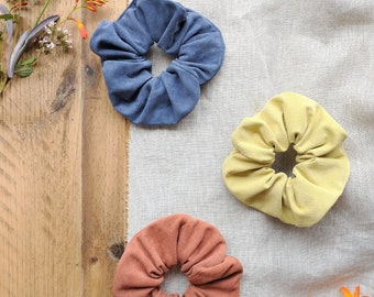 Summer Suede Scrunchies, Hair Accessory, Hair Ties, Bobble, Gift, Lottie and Jake