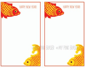 Chinese New Year invitation // lunar new year party | Etsy