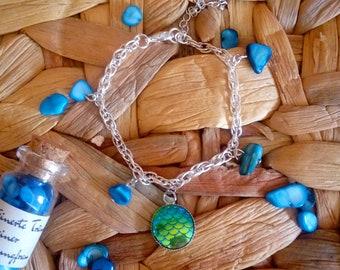 Bracelet inspired by The Little Mermaid
