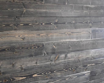 Shiplap Wall Planks Weathered White Brown Shiplap Wall Etsy
