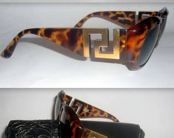 e83adadc0eb Gianni Versace Vintage Sunglasses. Model T75. Vintage 1990s. Rarely Worn.  In Excellent