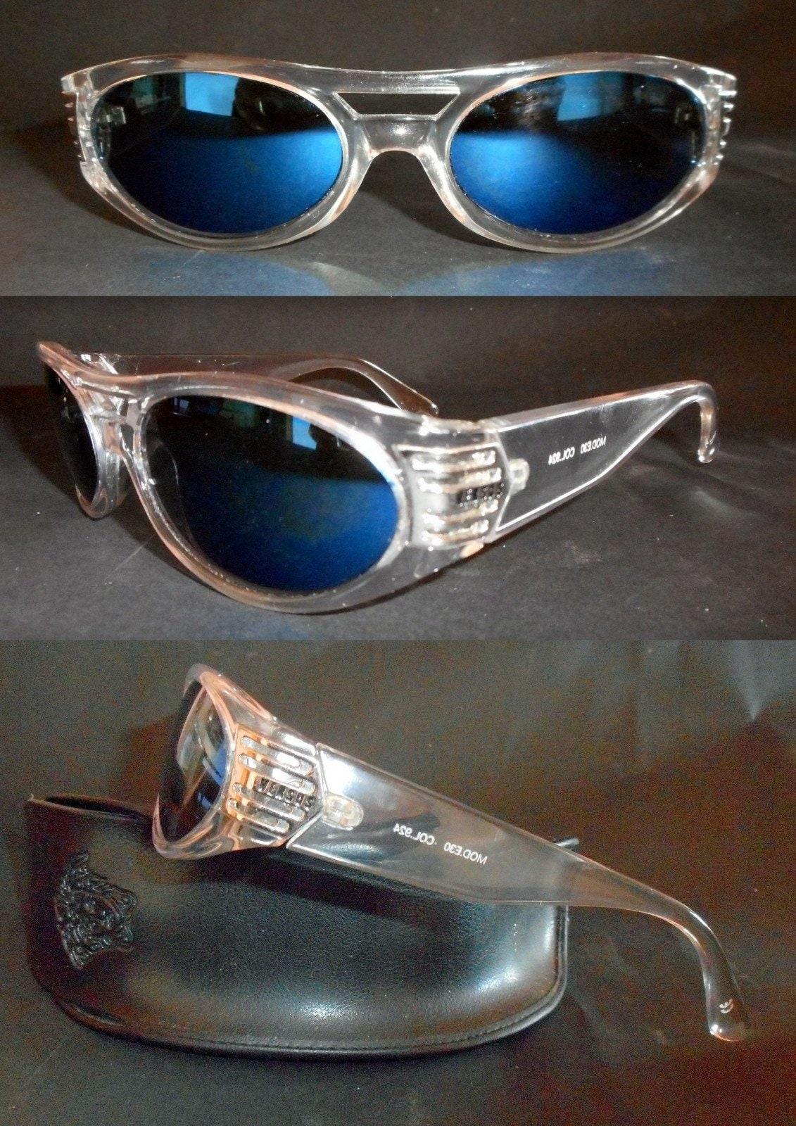 da8d7a58b51e Gianni Versace Vintage Men s Art Deco Vintage Sunglasses.