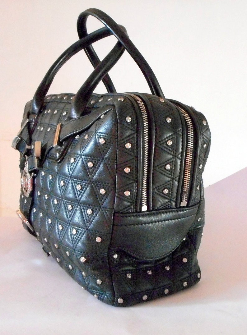 a2d4c31d5bd Gianni Versace Vanitas Medusa Head Silver Studded Bondage Bag.   Etsy