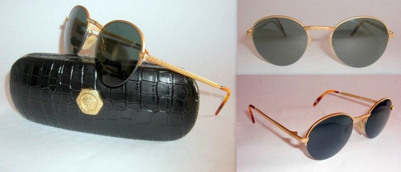 44fa2f3426ae Gianni Versace Vintage Men's S53 Sunglasses. Gianni's   Etsy