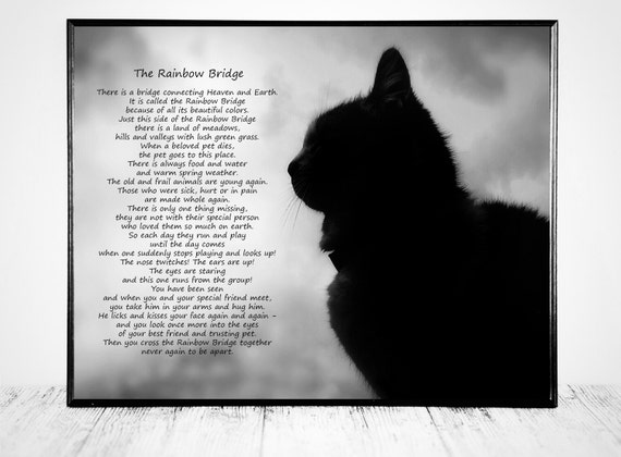 The Rainbow Bridge Poem Rainbow Bridge Rainbow Bridge Poem ...