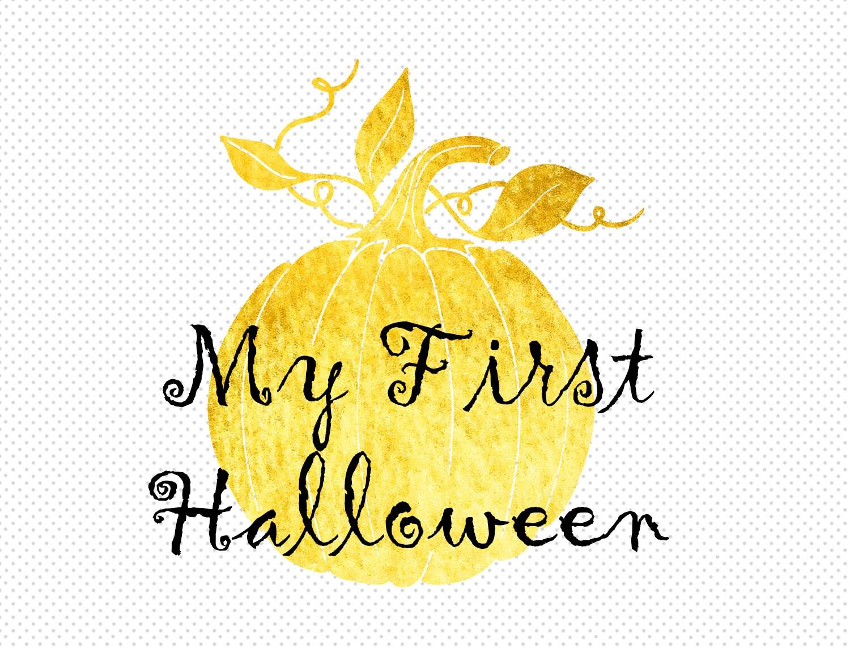 My First Halloween Clipart, 1st Halloween Clip Art, Clipart ...