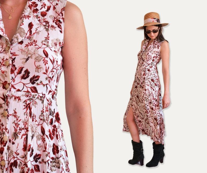 4de3e19ff74 Maxi robe fleurie robe longue romantique robe dété robe