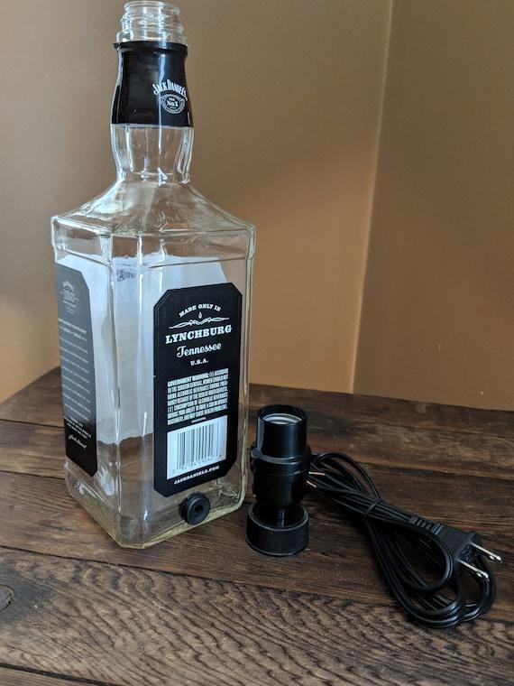 Whiskey Bottle Lamp Kit Table Lamp Desk Lamp Bottle Lamp Etsy
