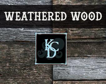 """Old Wood Paper Old Wood Texture Digital Wood Grain Paper Pack Wood Grain Texture Digital Scrapbooking Printable 4 8x8""""  Dark Wood Background"""