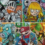 Nintendo Sketch Cards - Various Characters