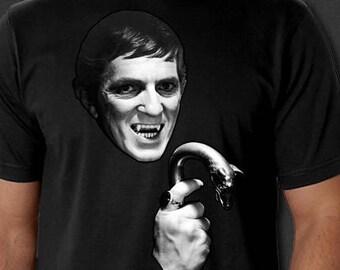 Dark Shadows Barnabas Collins Jonathan Frid Horror Halloween New T-Shirt S-6XL