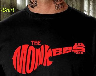 39f2fe23a The Monkees T-Shirt 60's 70s Rock Band Tee Davey Jones Retro S-6XL